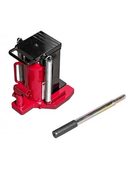 JTC-TOE200 Домкрат бутылочный 20т 303-443мм 2-х плунжерный купить во Владимире Профессиональный инструмент Инструмент гидравлич.