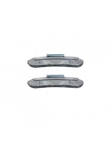 Балансировочные свинцовые грузики 55 гр для стальных дисков легковых легких грузовых автомобилей купить во Владимире и области.