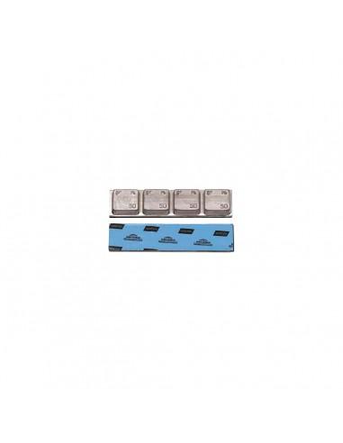 Свинцовые штампованные самоклеящиеся адгезивные балансировочные грузики Clipper 0063T 200 гр грузовых колес купить во Владимире.