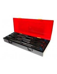 JTC-K7083 Набор отверток SL 3.0-SL8.0, PH1-PH2 силовых 8 предметов купить во Владимире Профессиональный инструмент Отвертки кле.