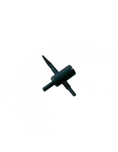 Метчик Clipper T604B для правки и очистки резьбы вентиля стандартного диаметра от загрязнений купить ремонт монтаж во Владимире.