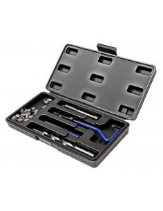 JTC-4791 Набор инструментов для восстановления резьбы (вставки М10х1.0, L 13.5мм, 10шт.) 14 предметов купить во Владимире Профе.