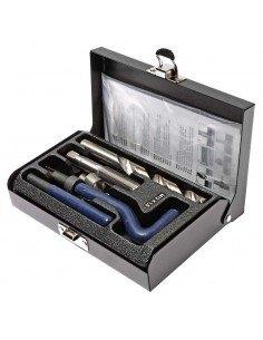 JTC-4786 Набор инструментов для восстановления резьбы (вставки М12х1.5, L 16.3мм, 10шт.) 14 предметов купить во Владимире Профе.