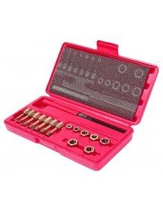 JTC-3916 Набор инструментов для восстановления резьбы М6х1.0-М12х1.75мм в кейсе 15 предметов купить во Владимире Профессиональн.