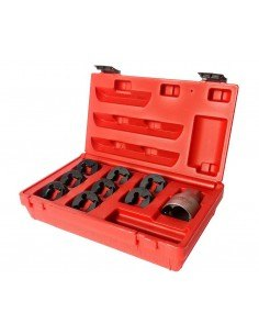 JTC-5203 Набор инструментов для восстановления резьбы оси ШРУСа (М24х2.0-М20х1.25, 3/4х20) в кейсе купить во Владимире Професси.