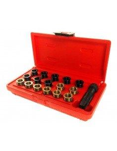 JTC-4314 Набор инструментов для восстановления резьбы свечей зажиг. (втулки M12х1.25,L 12.7мм,19мм) 16шт. купить во Владимире П.