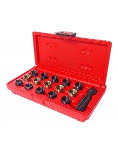 JTC-4864 Набор инструментов для восстановления резьбы свечей зажигания (втулки М14х1.25 L 11.2мм,17.5мм) купить во Владимире Пр.