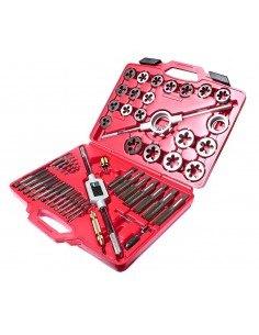 JTC-5214 Набор метчиков и плашек в кейсе 51 предмет купить во Владимире Профессиональный инструмент Инструмент общего назначени.