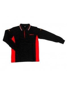 JTC-D02L Рубашка-поло мужская с длинным рукавом, размер L (65% хлопок, 35% полиэстер) купить во Владимире Профессиональный инст.