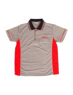 JTC-D01L Рубашка-поло мужская с коротким рукавом, размер L (100% полиэстер) купить во Владимире Профессиональный инструмент Инс.