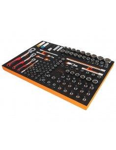 JTC-MB1116 Набор инструментов 116 предметов слесарно-монтажный (MERCEDES) в ложементе купить во Владимире Профессиональный инст.