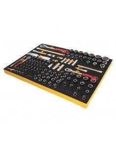 JTC-BW1119 Набор инструментов 119 предметов слесарно-монтажный (BMW) в ложементе купить во Владимире Профессиональный инструмен.