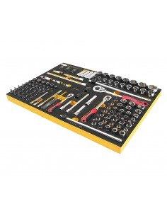 JTC-US1119 Набор инструментов 119 предметов слесарно-монтажный в ложементе купить во Владимире Профессиональный инструмент Теле.