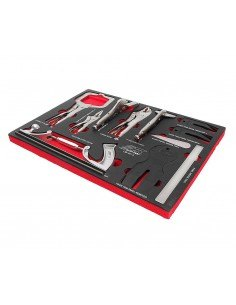 JTC-UB4012 Набор инструментов 12 предметов слесарно-монтажный в ложементе купить во Владимире Профессиональный инструмент Тележ.