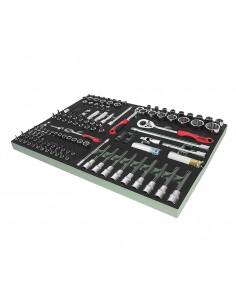 JTC-VA1123 Набор инструментов 123 предмета слесарно-монтажный (VAG) в ложементе купить во Владимире Профессиональный инструмент.
