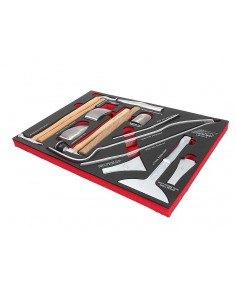 JTC-UB3013 Набор инструментов 13 предметов слесарно-монтажный для кузовных работ в ложементе купить во Владимире Профессиональн.