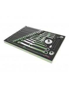 JTC-VA2035 Набор инструментов 35 предметов слесарно-монтажный (VAG) в ложементе купить во Владимире Профессиональный инструмент.