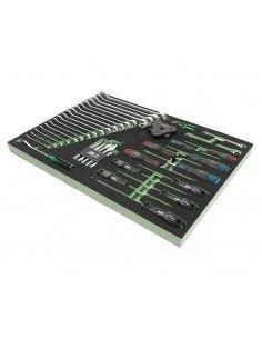 JTC-US2040 Набор инструментов 40 предметов слесарно-монтажный в ложементе купить во Владимире Профессиональный инструмент Тележ.