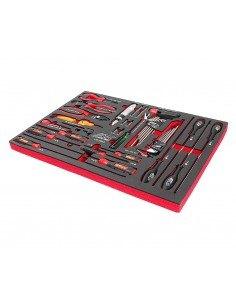 JTC-UB2043 Набор инструментов 43 предмета слесарно-монтажный в ложементе купить во Владимире Профессиональный инструмент Тележк.