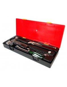JTC-K8051 Набор инструментов 5 предметов слесарно-монтажный (молоток,ножницы,отвертка) в кейсе купить во Владимире Профессионал.