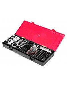 JTC-K8261 Набор инструментов для демонтажа крепежных элементов с поврежденной резьбой 26 предметов купить во Владимире Професси.
