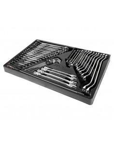 JTC-39312 Набор инструментов для тележки инструментальной JTC-3931 (2-я секция) 45 предметов купить во Владимире Профессиональн.