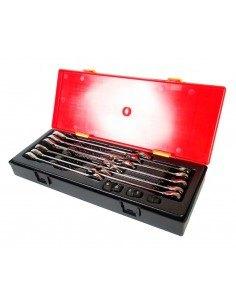 JTC-K6141 Набор ключей комбинированных трещоточных 8-19мм 14 предметов в кейсе купить во Владимире Профессиональный инструмент .