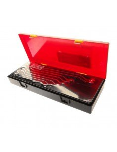 JTC-K6083 Набор ключей накидных 8-24мм изгиб 45град. 8 предметов в кейсе купить во Владимире Профессиональный инструмент Тележк.