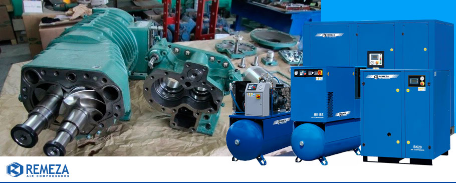Винтовые компрессоры для непрерывной подачи воздуха, поставка, монтаж, обслуживание и ремонт во Владимире.